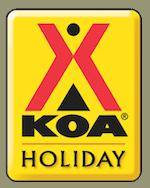Milton / Gulf Pines KOA Retina Logo